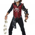 Size: Medium #00614 Voodoo Hex Skeleton Rocker Child Costume