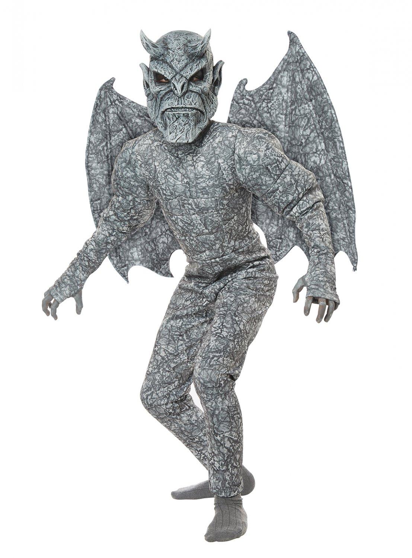 Size: X-Large #00633 Medieval Times Evil Ghastly Gargoyle Statue Child Costume