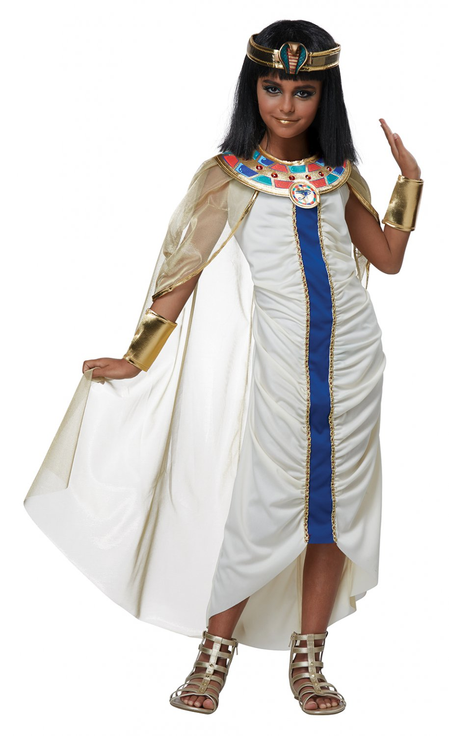 Size: Medium #00580 Nile Princess Queen Cleopatra Girl Child Costume