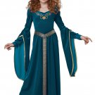 Size: Large #00573  Medieval Princess Renaissance Game of Thrones  Girl Child Costume