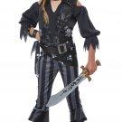 Size: Large #00569 Buccaneers Rebel Pirate Raider Girl Child Costume