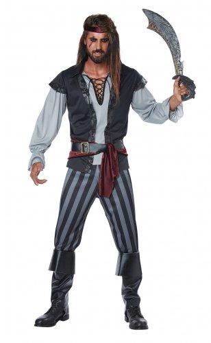 Size: Medium # 01443 Raider Buccaneers Renaissance Scallywag Pirate Adult Costume