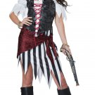 Size: X-Small #01441 Raider Buccaneers Pirate Beauty Adult Costume