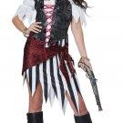 Size: Medium #01441  Pirate Beauty Buccaneers Swashbuckler Adult Costume