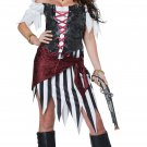 Size: Large #01441  Carribean Pirate Beauty Buccaneers Raider Adult Costume