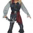 Size: Small #00634 Sea Scoundrel Pirate Raider Buccaneers Child Costume