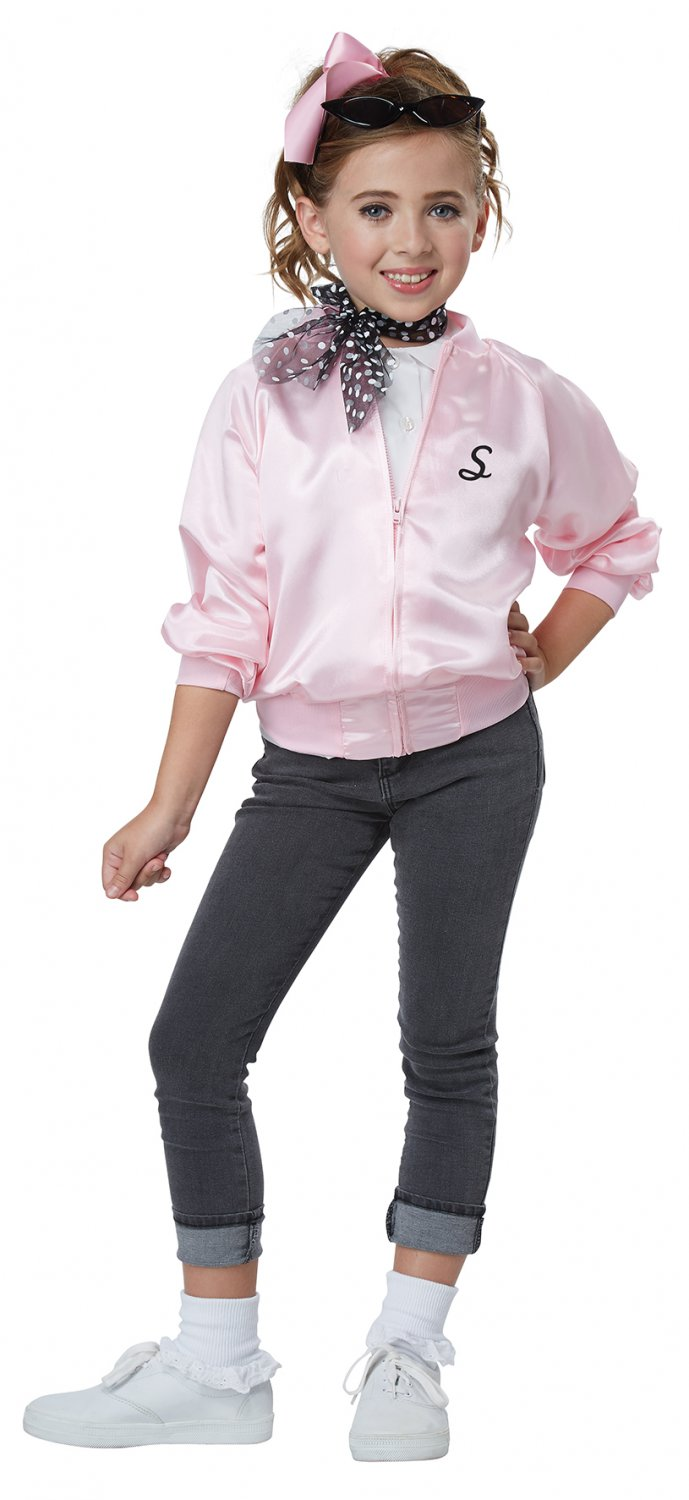 Size: X-Small #00617 Grease 50's Satin Varsity Jacket Child Costume