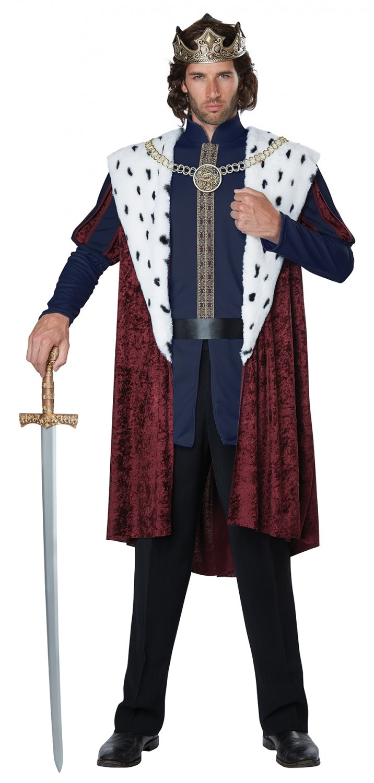 Size: Large/X-Large # 1459  Royal Storybook King Disney Medieval Times Renaissance Adult Costume