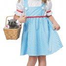 Size: Medium #00181 Wizard of Oz Dorothy Toddler Child Costume