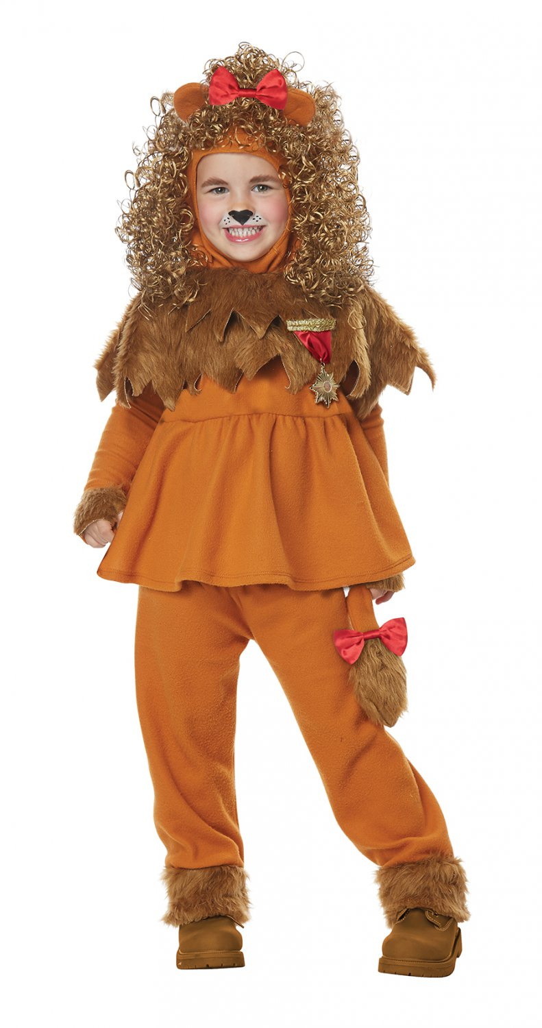 Size: Large #00183 Wizard of Oz Courageous Lion Toddler Child Costume