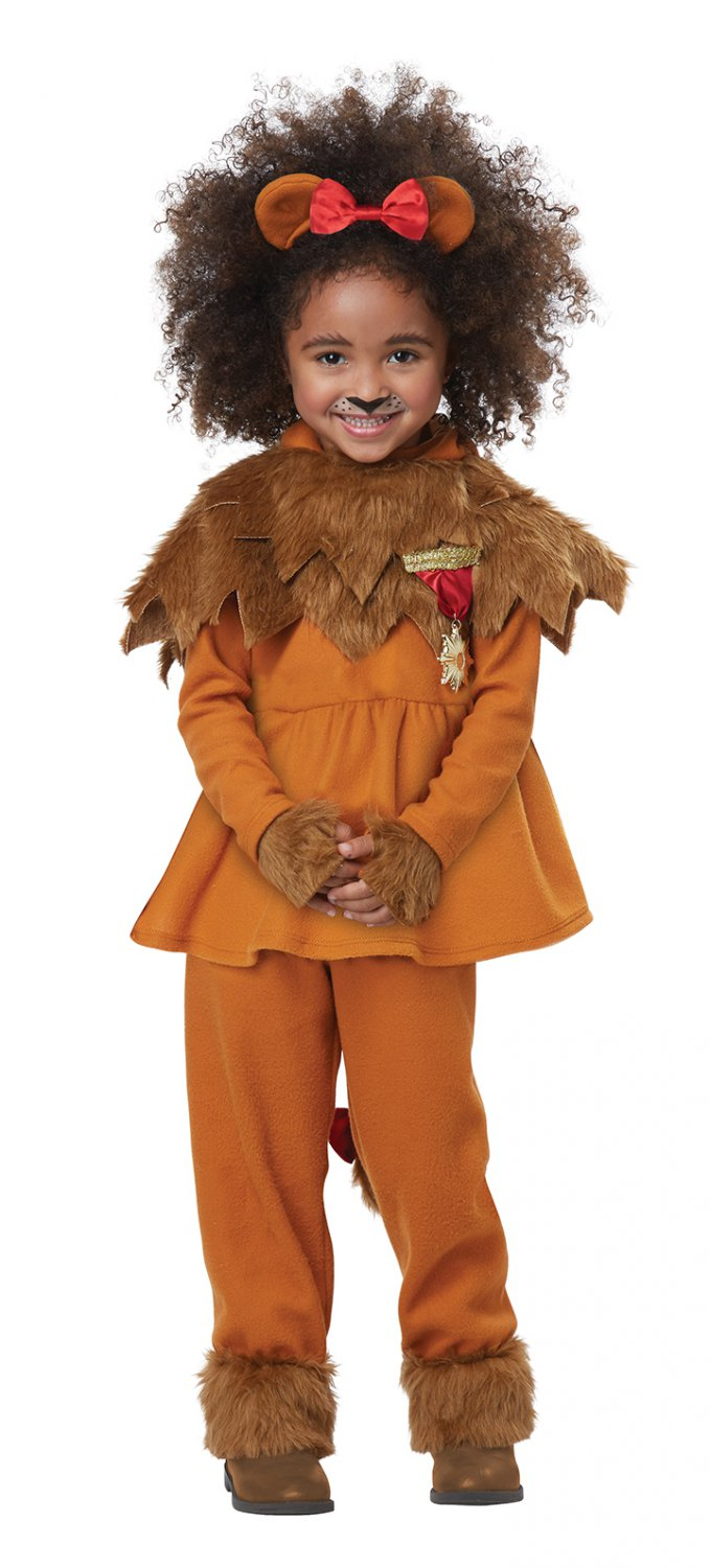 Size: Medium #00183 Wizard of Oz Courageous Lion Toddler Costume