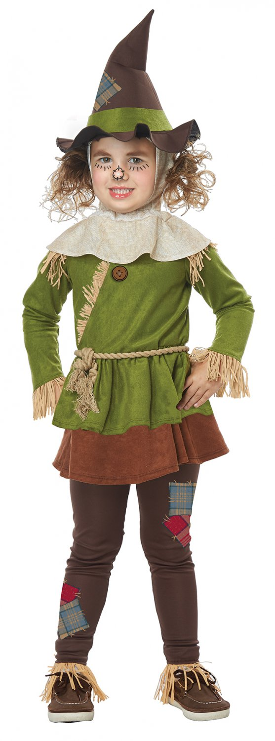 Size: Medium #00179 Scarecrow Wizard of Oz Toddler Child Costume