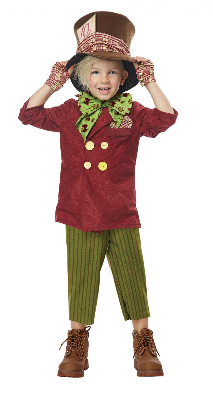 Size: Large #00184 Little Mad Hatter Alice In Wonderland Toddler Costume