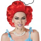#70888  Rock and Roll Cosplay 50's Pop Art Girl Red Costume Accessory Wig