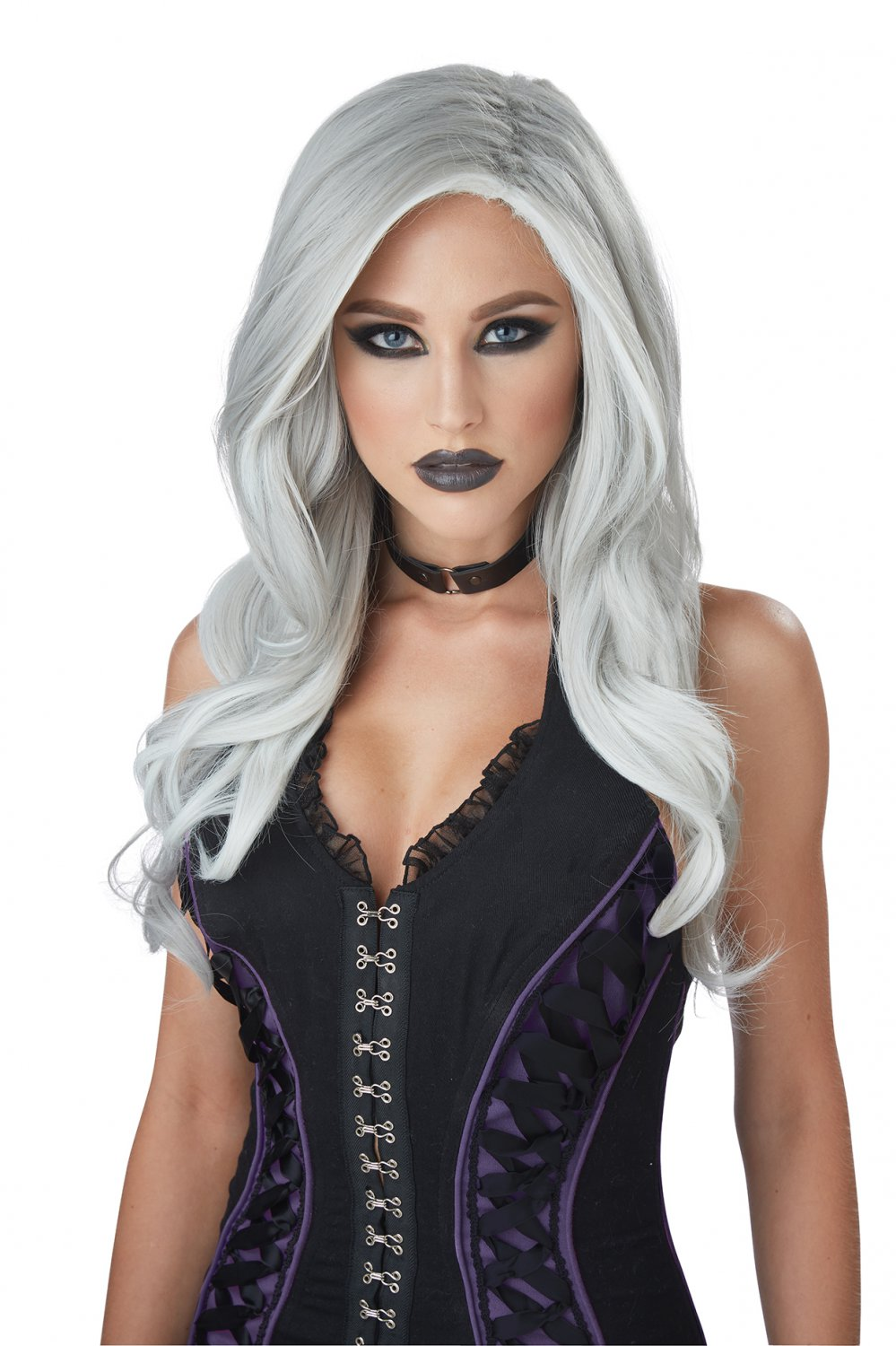 #70885 Sexy Victorian Renaissance Gothic Vampire Fatal Beauty Costume Accessory Wig