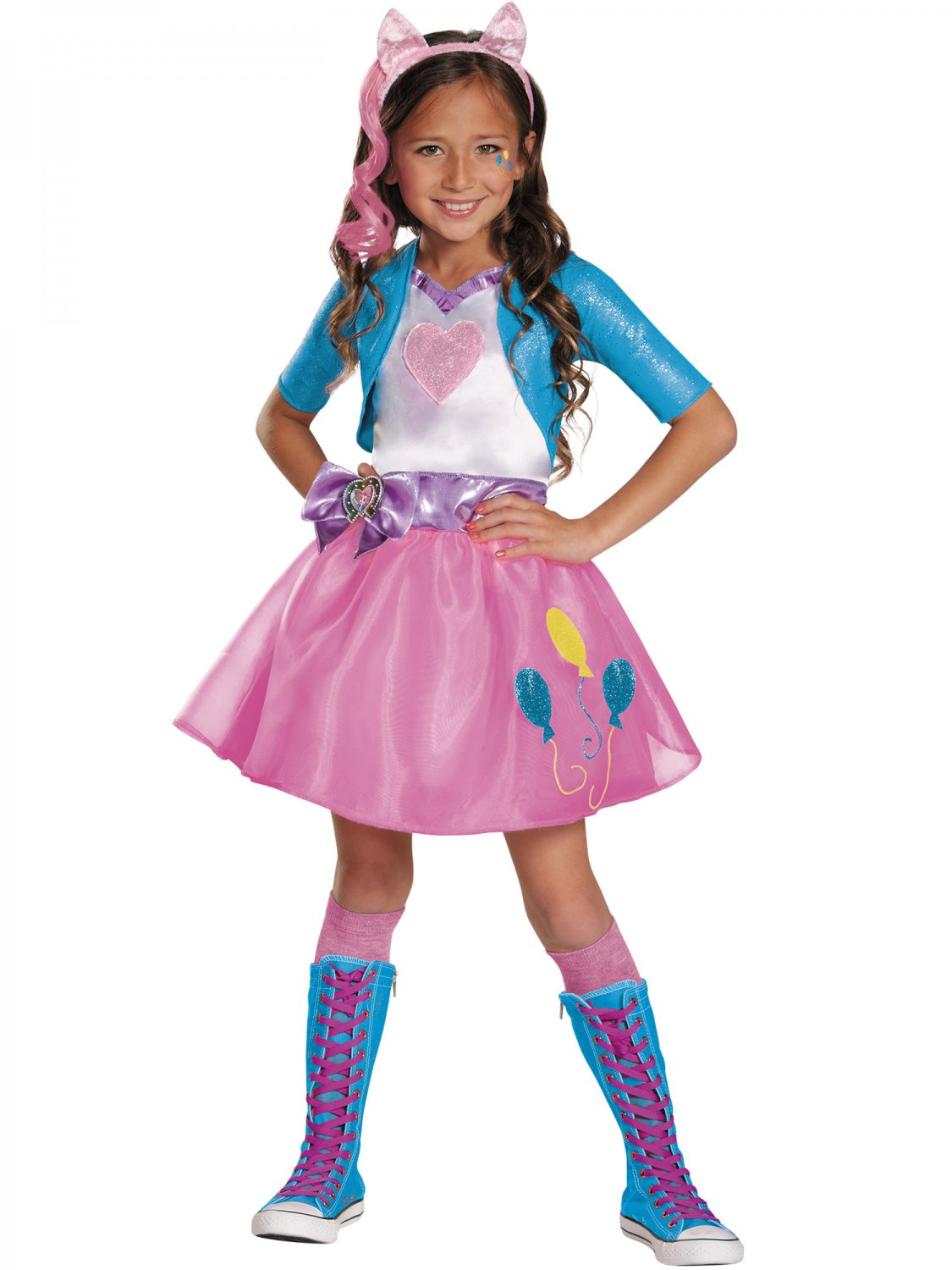 Size: Small #80128S Disguise Pinkie Pie Equestrian Deluxe Child Costume