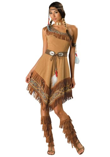 Size: Large #1072L  Disney Pocahontas Indian Maiden Princess  Adult Costume.