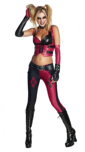 Size: Large #820414L Batman Arkham City Sexy Harley Quinn Joker Adult Costume