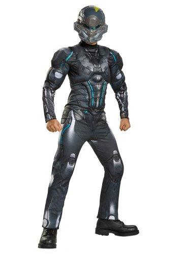 Size: Small #97537S Spartan Locke Classic Muscle Halo Microsoft Child Costume
