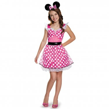 Size: X-Large #85585X Disney Minnie Mouse Classic Disguise Teen/Tween Child Costume