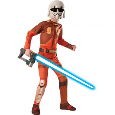 Size: Small #884874S  Disney Star Wars Ezra Bridger Child Costume