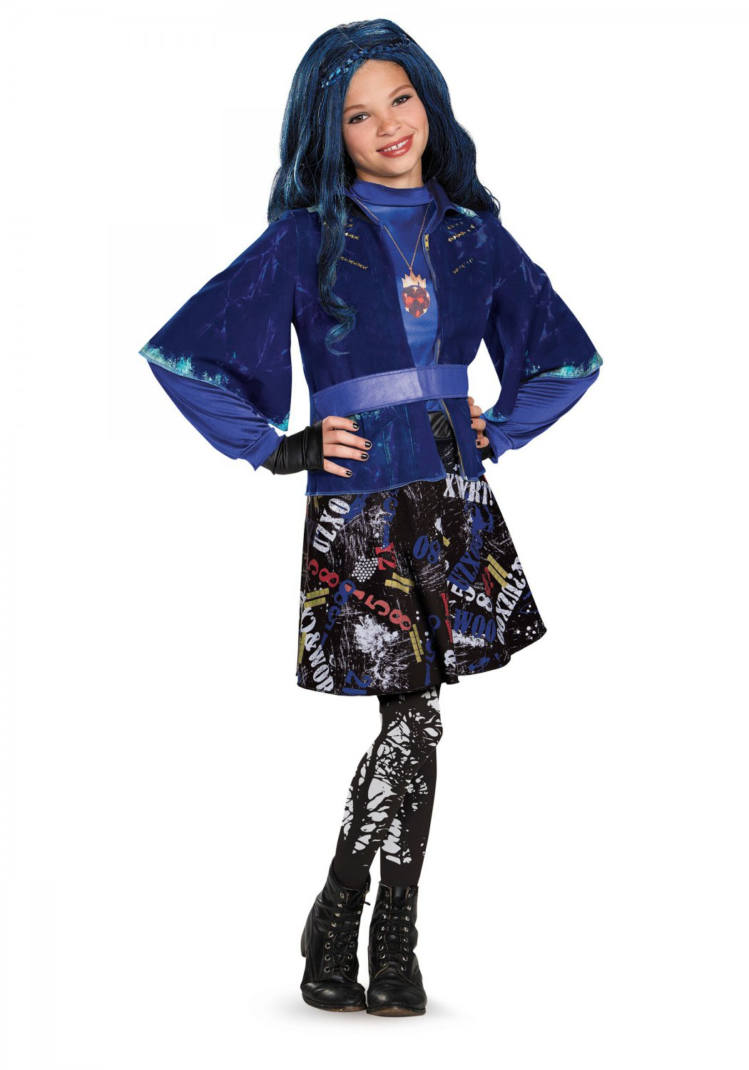 Size: Small #88116S Disney The Descendants Evie Isle of the Lost Deluxe Child Costume