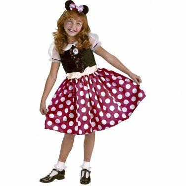 Size: Medium #5036M Disney Minnie Mouse Classic Disguise Child Costume