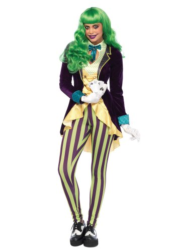 Size: X-Small #85589XS Batman Harley Quinn Joker Wicked Trickster Adult Costume