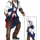 Size: X-Large 85172XL  Assassin's Creed  Connor Deluxe Adult Leg Avenue Men's Costume