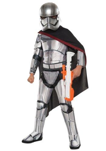 Size: Small #620092S Disney Star Wars Super Deluxe Captain Phasma Child Costume