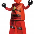 Size: Large #99084L  Stealth Ninja Samurai Lego Ninjago Kai Child Costume