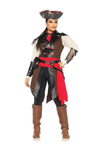 Size: Small #85520S Women's Assassin's Creed Aveline Deluxe  Leg Avenue Adult Costume