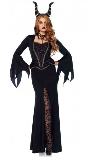 Size: Medium #85535M  Disney Queen Evil Enchantress  Leg Avenue Adult Costume
