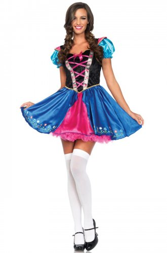 Size: Large #85460L  Sexy Disney Princess Anna Alpine Princess Leg Avenue Adult Costume