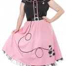Plus Size: 1X-Large  #01769 Grease 50's Sweetheart Rock and Roll Adult Costume