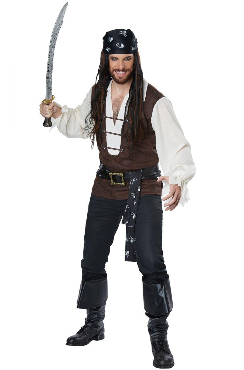 Plus Size: # 01782 Raider Buccaneers High Seas Adventurer Pirate Adult Costume