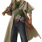 Size: X-Small #00211 Walking Dead Zombie Hunter Safari Child Costume