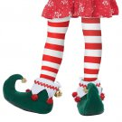 Size: Small #60728 Christmas Santa Claus Workshop Elf Child Costume Shoes