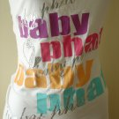 Baby Phat  White stretch t- Shirt- size  Medium