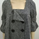 XOXO Beautiful NewBlack checkered jacket- Medium