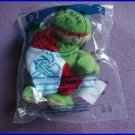 BUILD -A- BEAR #7 FRIENDLY FROG-BASEBALL JERSEY NIP