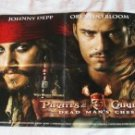 DISNEY PIRATES /CARS FOLD-OUT POSTER