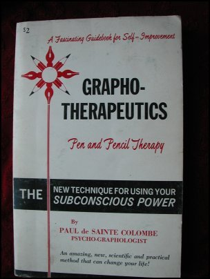 Grapho-Therapeutics; Pen and Pencil Therapy - Colombe (1966)