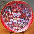 "Franklin Mint Plate ""Puppies' Luv"" by Bill Bell"