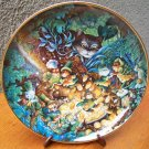 """Franklin Mint Plate """"St. Catricks Day"""" by Bill Bell"""