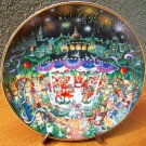 "Franklin Mint Plate ""Purr-cussion Section"" by Bill Bell"