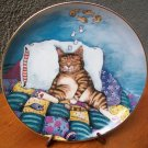 "Danbury Mint Plate ""Cat Nap"" by Gary Patterson"