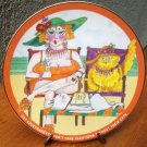 """Danbury Mint Plate """"Vacation"""" by Ronnie Sellers"""