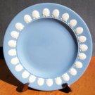 Wedgwood Blue Jasperware Shell Rimmed Plate