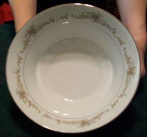Sango China Round Vegetable Bowl, Carousel Pattern